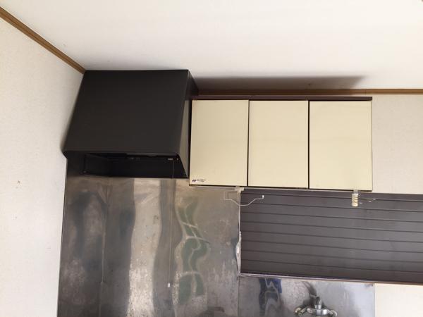 キッチン ステンレス 換気扇 ナショナル ガスコンロ システムキッチン_画像2