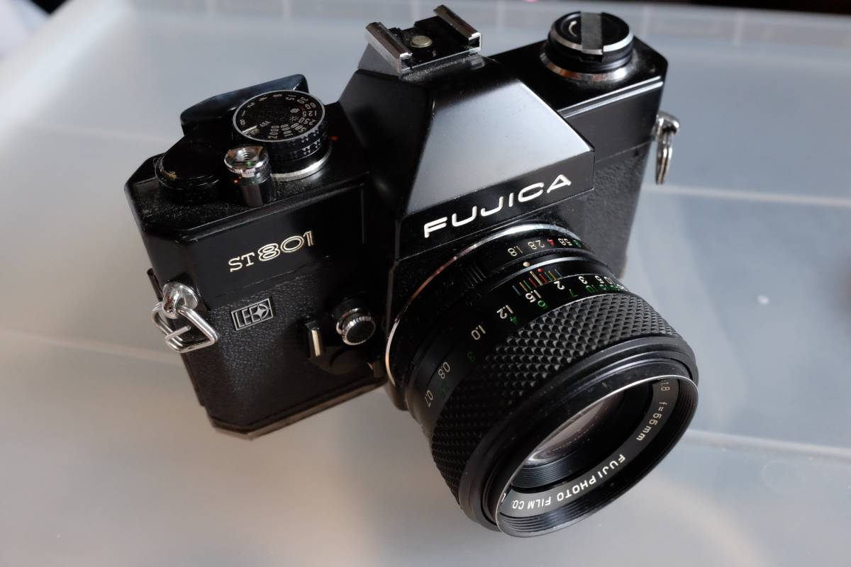 ジャンク フジカ FUJICA ST801 EBC FUJINON 55mm F1.8 フジノン