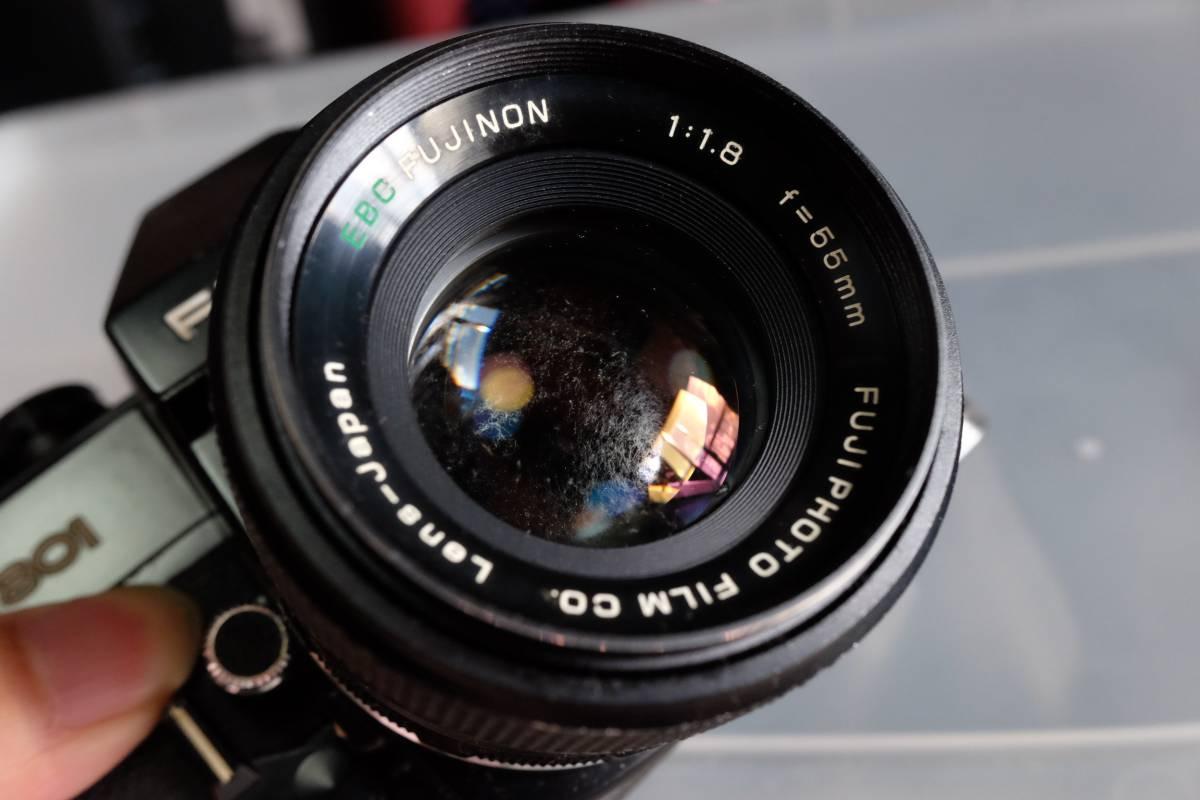 ジャンク フジカ FUJICA ST801 EBC FUJINON 55mm F1.8 フジノン_画像2