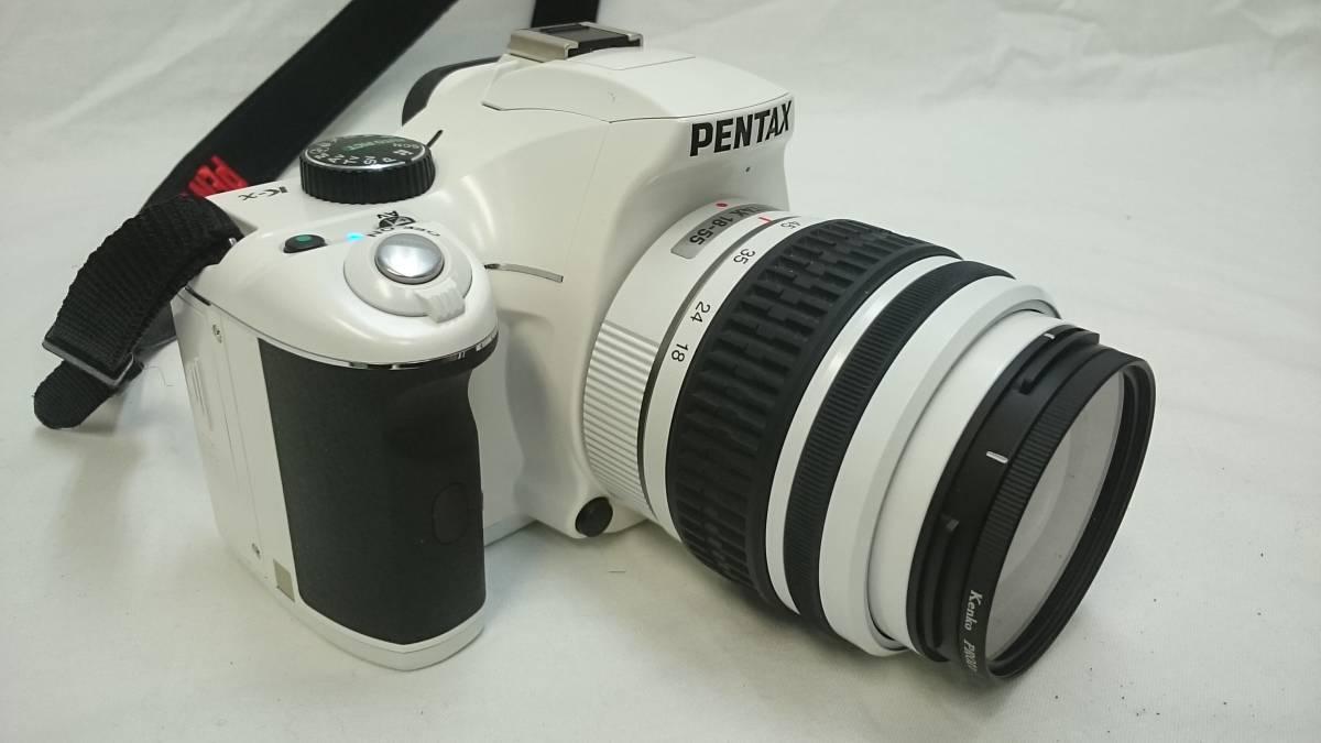 美品動作OK PENTAX/ペンタックス K-x デジタル 一眼レフ カメラ n898