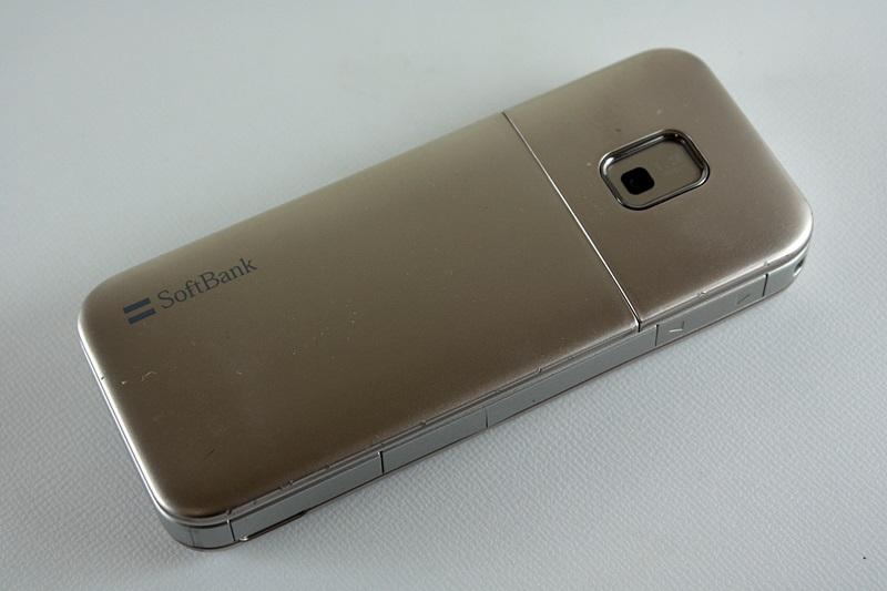 白ロム/中古:SoftBank/ソフトバンク Samsung 731SC ゴールド 〇判定/初期化OK◆0196324_画像2