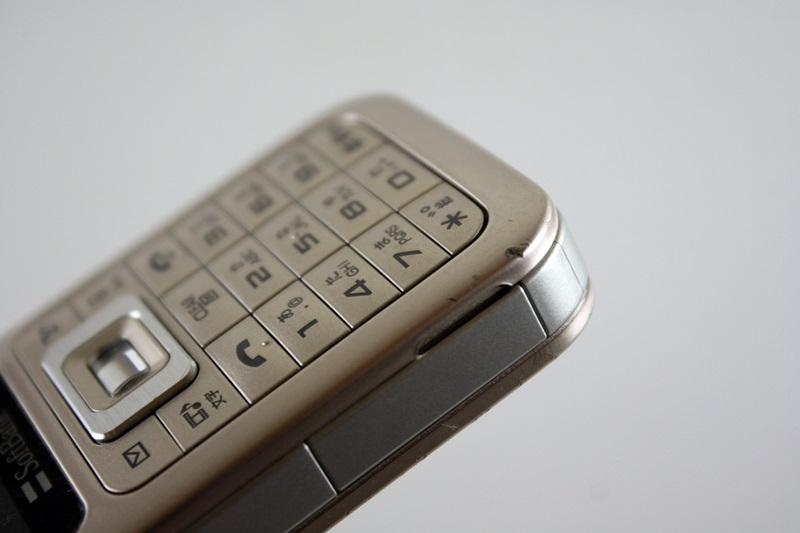 白ロム/中古:SoftBank/ソフトバンク Samsung 731SC ゴールド 〇判定/初期化OK◆0196324_画像3
