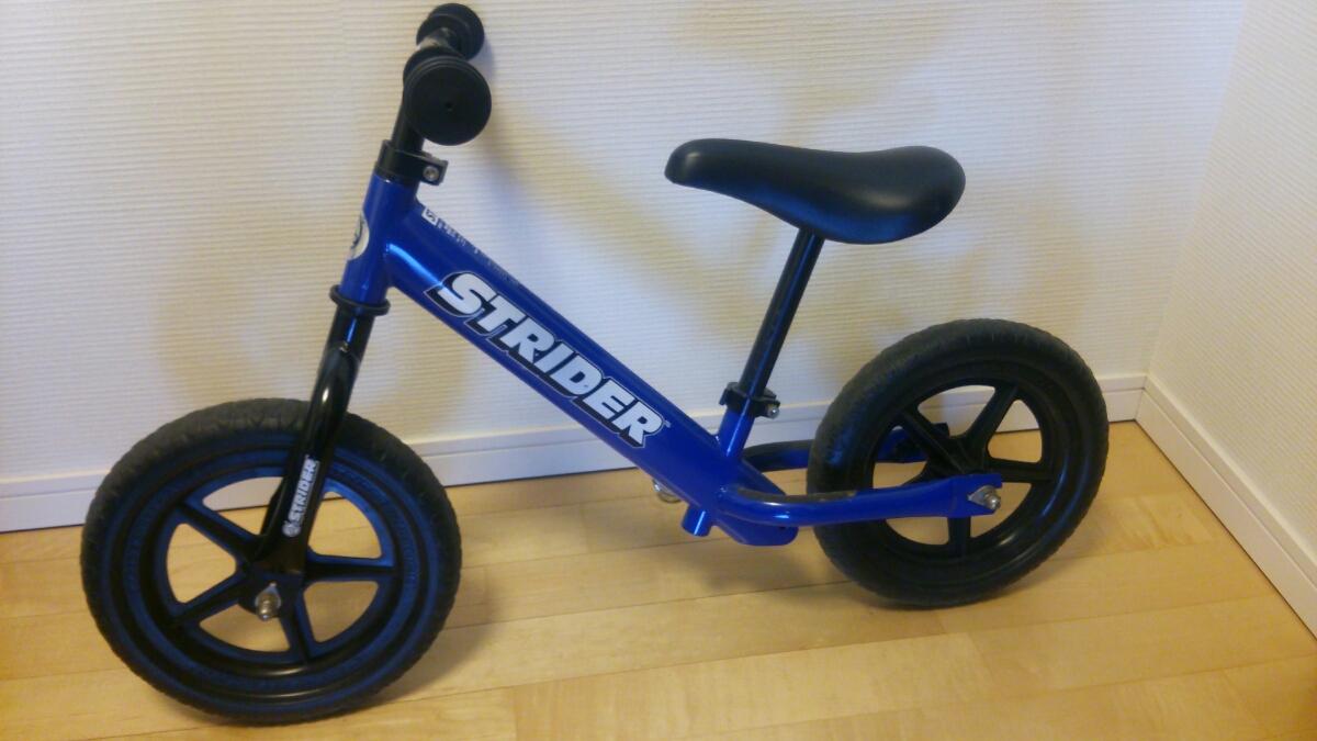 【良品】ストライダー 青 子ども用 バランスバイク