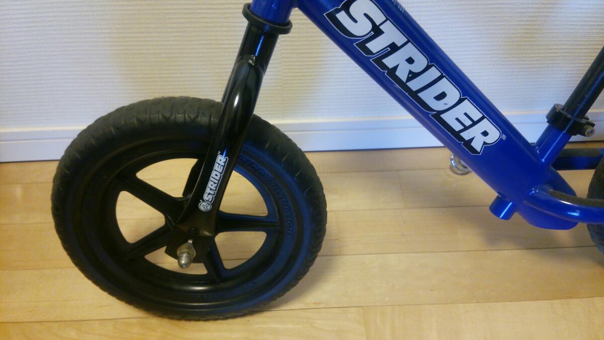 【良品】ストライダー 青 子ども用 バランスバイク_画像4