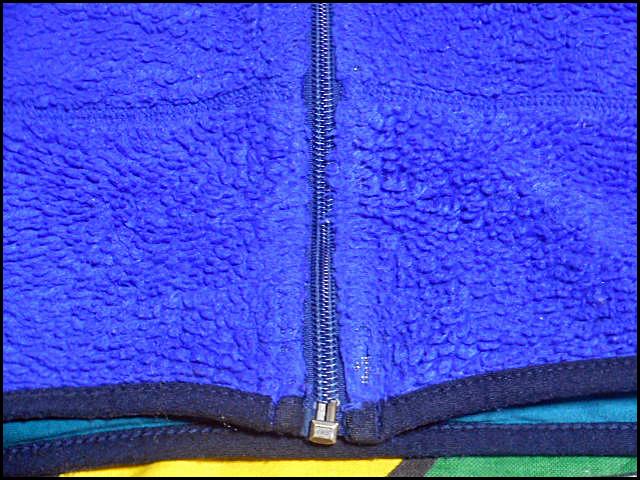 ★希少な96年製★Made in USA製アメリカ製patagoniaパタゴニアビンテージレトロXフリースジャケット90s90年代MレトロパイルカーディガンPEF_画像6