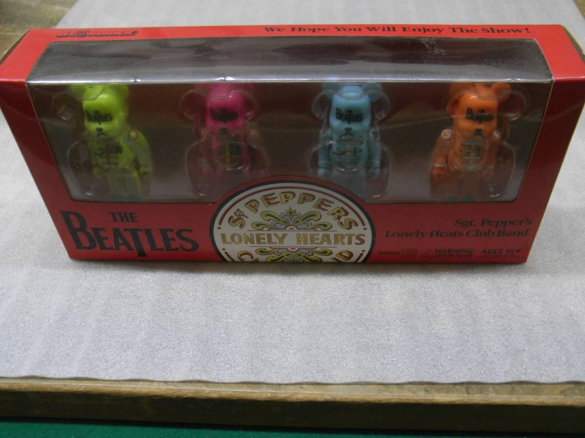 ビートルズ THE BEATLES ベアブリックX4 2006