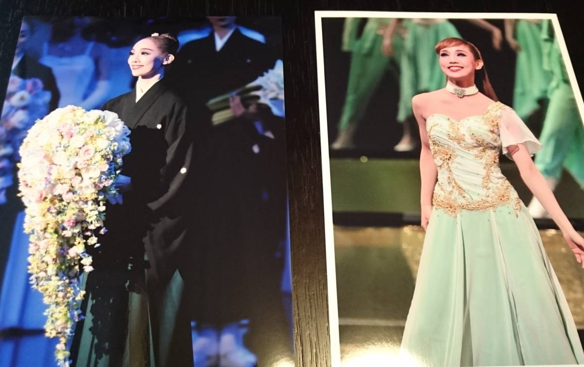 咲妃みゆ★宝塚雪組公演【幕末太陽傳】舞台写真 2枚