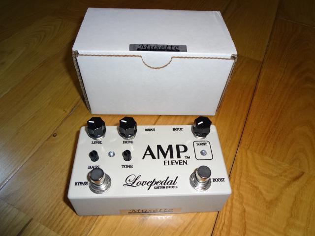 激レア Lovepedal AMP11 AMP ELEVEN 希少Bone COT50