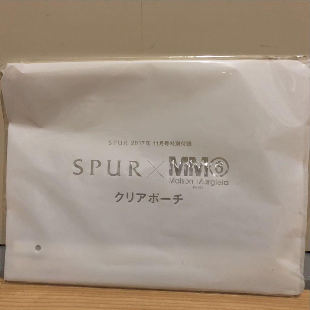 【新品】SPUR付録 MM6 クリアポーチ