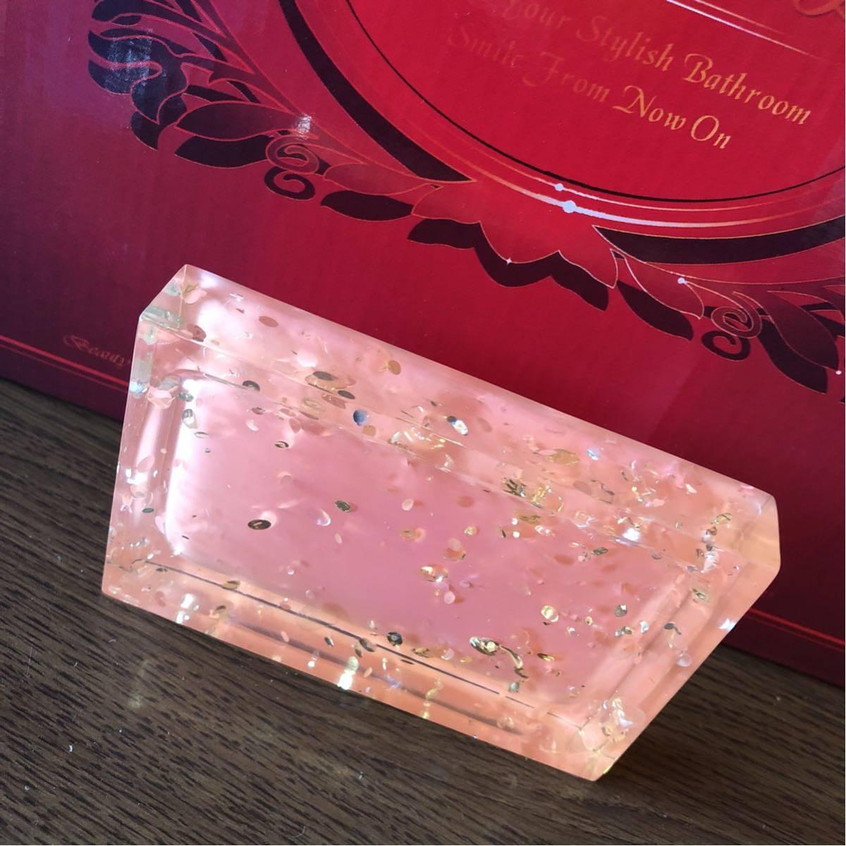 [ новый товар не использовался ] умывание комплект розовый чистый красивый стиль простой
