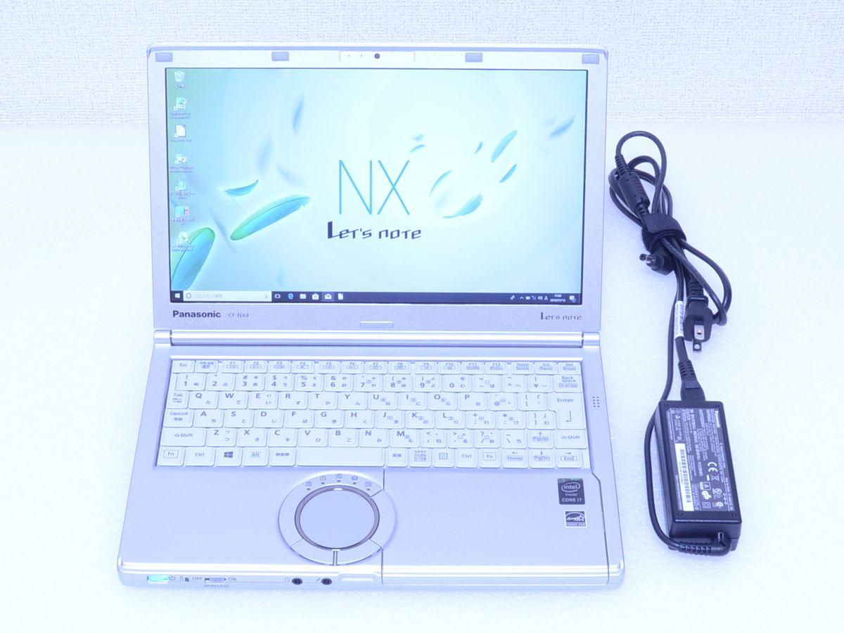 【綺麗♪ 1040時間】Panasonic CF-NX4 Core i7 5500U SSD 256GB で爆速 メモリ 8GB キー新品 訳あり カメラ Bluetooth Office Win10/Win8.1