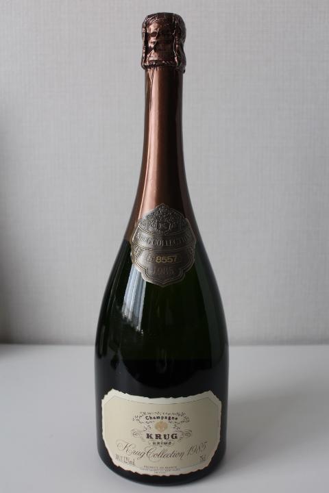【古酒・未開栓】KRUG クリュッグ コレクション 1985 750ml_画像1