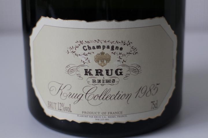 【古酒・未開栓】KRUG クリュッグ コレクション 1985 750ml_画像2