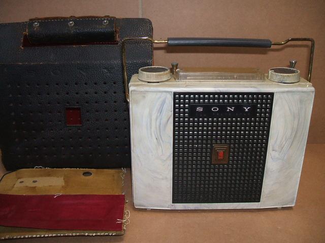ソニー/SONY ALL WAVE 7石トランジスタラジオ TR-741 昭和30年代_画像2