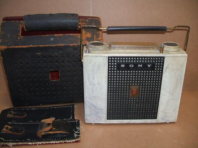 ソニー/SONY ALL WAVE 7石トランジスタラジオ TR-741 昭和30年代