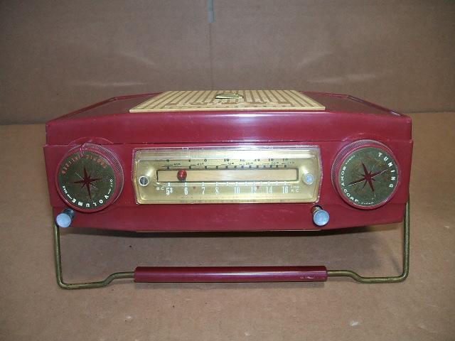 ソニー/SONY SW/BC 2BAND 7石トランジスタラジオ TR-74 昭和30年代_画像6