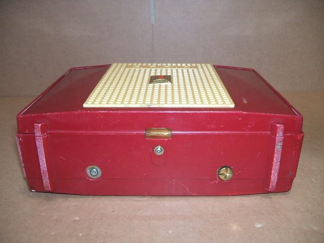 ソニー/SONY SW/BC 2BAND 7石トランジスタラジオ TR-74 昭和30年代_画像5
