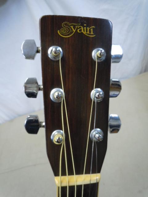 激鳴り! 上質! ジャパンビンテージ S.yairi YD-302 アコースティックギター トップ単板 S.ヤイリ/外部ピックアップ付き LAWRENCE_画像5