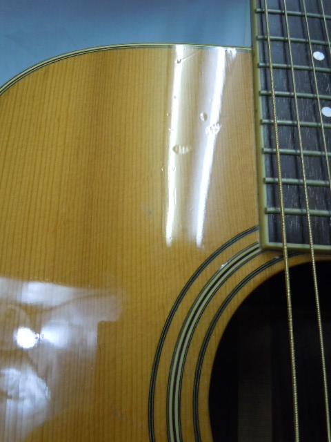激鳴り! 上質! ジャパンビンテージ S.yairi YD-302 アコースティックギター トップ単板 S.ヤイリ/外部ピックアップ付き LAWRENCE_画像10