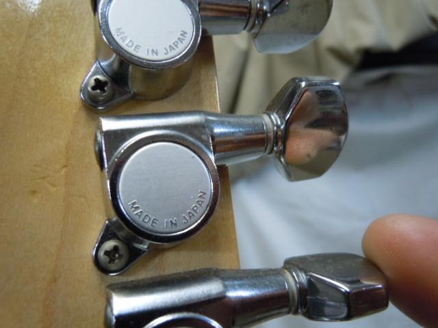 エレキギター ダブルネック メーカー名無し/ 弦ロック式 フロイドローズブリッジ/Fender ペグ_画像5
