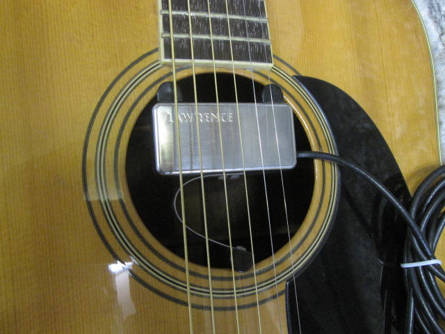 激鳴り! 上質! ジャパンビンテージ S.yairi YD-302 アコースティックギター トップ単板 S.ヤイリ/外部ピックアップ付き LAWRENCE_画像2