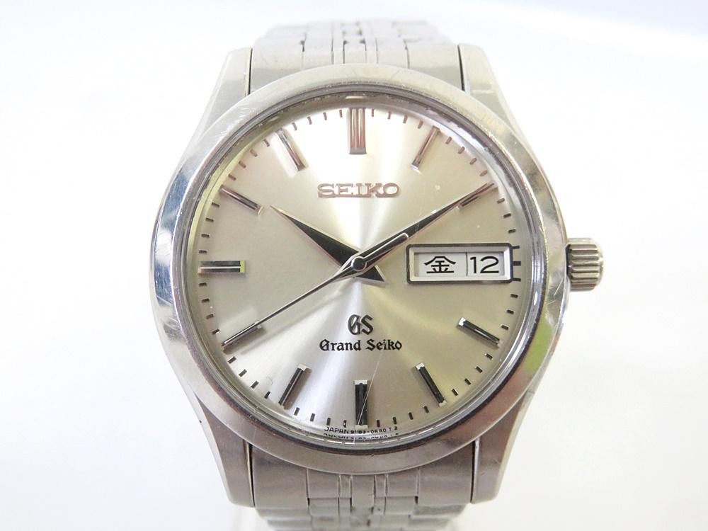 03/97-12 グランドセイコー GS 9F83-0AB0 クォーツ メンズ 腕時計 デイデイト