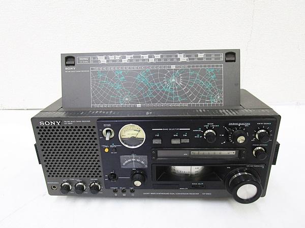 04/230-09◆ SONY ソニースカイセンサー ICF-6800 BCL ラジオ_画像4