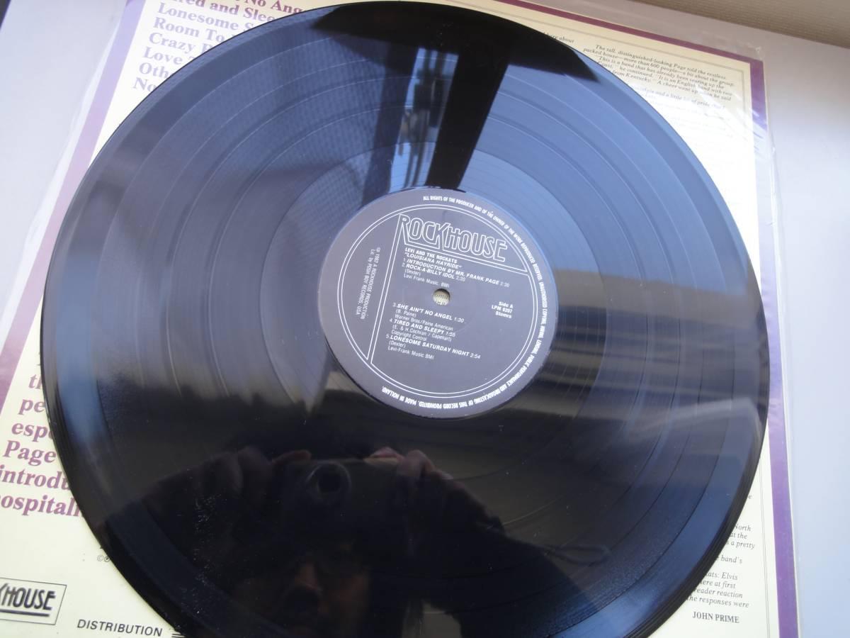 ★ LEVI THE ROCKATS LP オリジナル盤 ネオロカ サイコビリー ロックンロール パンク CLASH ALL sa レア盤 RANCID 666 ロカビリー_画像6