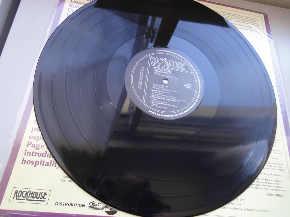 ★ LEVI THE ROCKATS LP オリジナル盤 ネオロカ サイコビリー ロックンロール パンク CLASH ALL sa レア盤 RANCID 666 ロカビリー_画像8