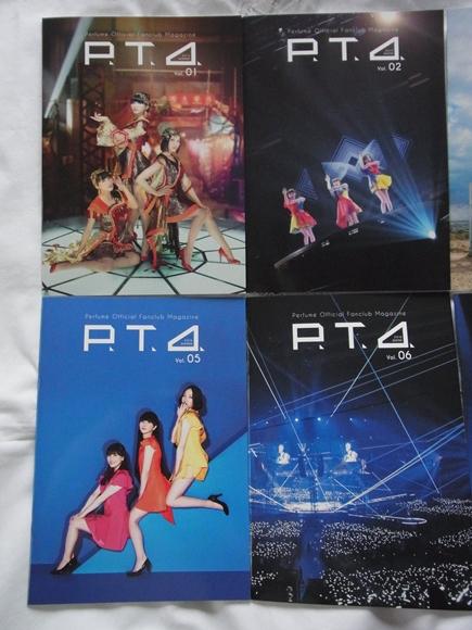 非売品★Perfume ファンクラブ P.T.A.マガジン Vol.1~8 冊子 カード3枚 最新号含む_画像7