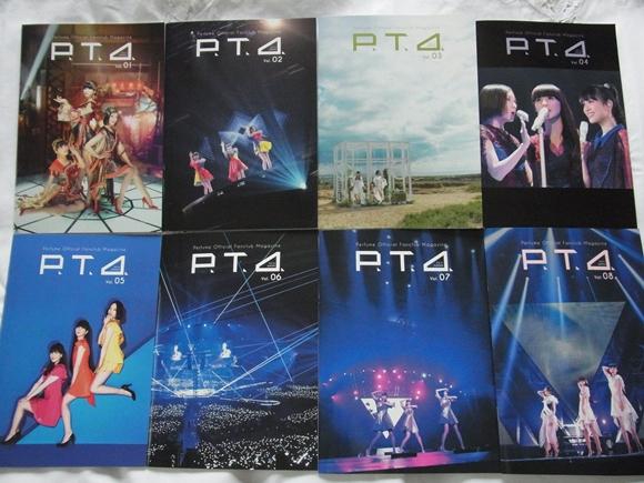 非売品★Perfume ファンクラブ P.T.A.マガジン Vol.1~8 冊子 カード3枚 最新号含む_画像2