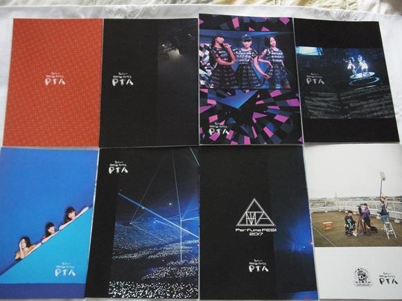 非売品★Perfume ファンクラブ P.T.A.マガジン Vol.1~8 冊子 カード3枚 最新号含む_画像3