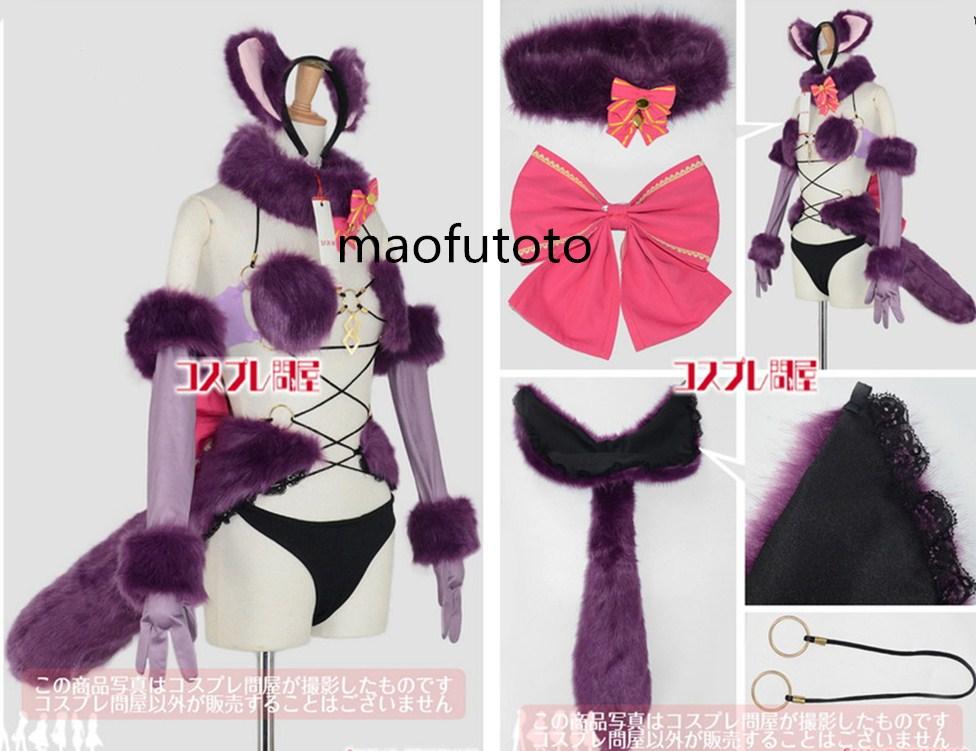 Fate/Grand Order(フェイトグランドオーダー・FGO・Fate go)★デンジャラス・ビースト☆コスプレ衣装全セット_画像1