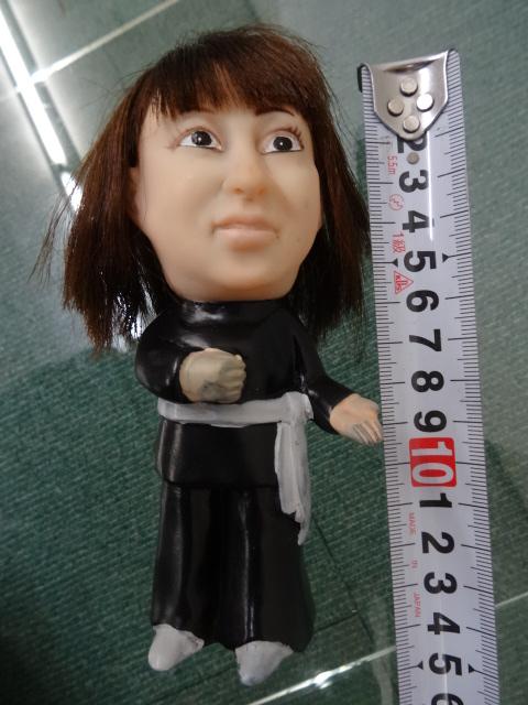 非売品 藤圭子のソフビ 三菱ミニカ 人形