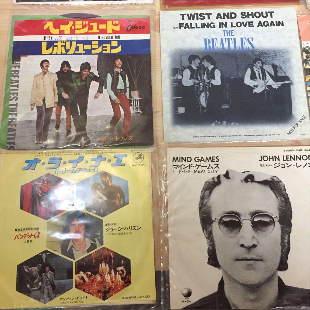 The Beatles EP レコード ビートルズ 22枚 まとめて 赤盤 ピクチャーレコード あり_画像3