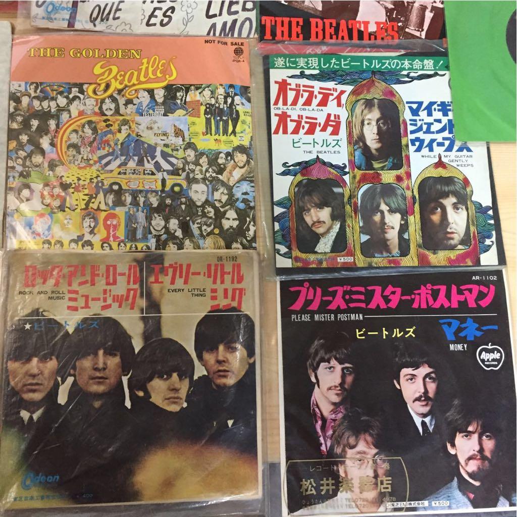 The Beatles EP レコード ビートルズ 22枚 まとめて 赤盤 ピクチャーレコード あり_画像2