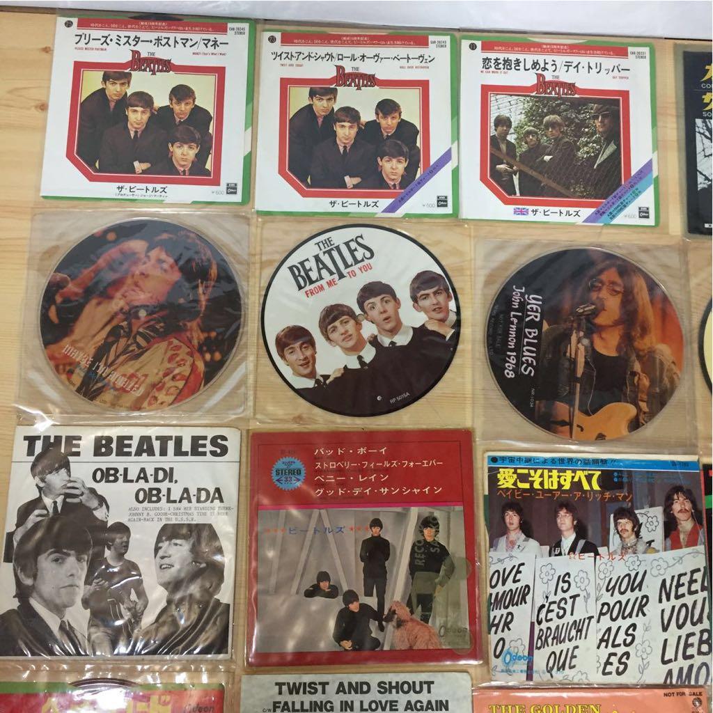 The Beatles EP レコード ビートルズ 22枚 まとめて 赤盤 ピクチャーレコード あり_画像4