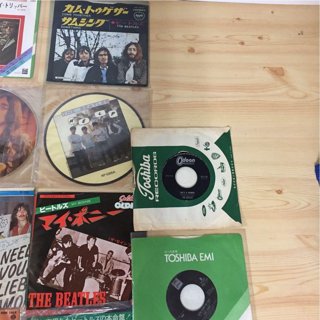 The Beatles EP レコード ビートルズ 22枚 まとめて 赤盤 ピクチャーレコード あり_画像5