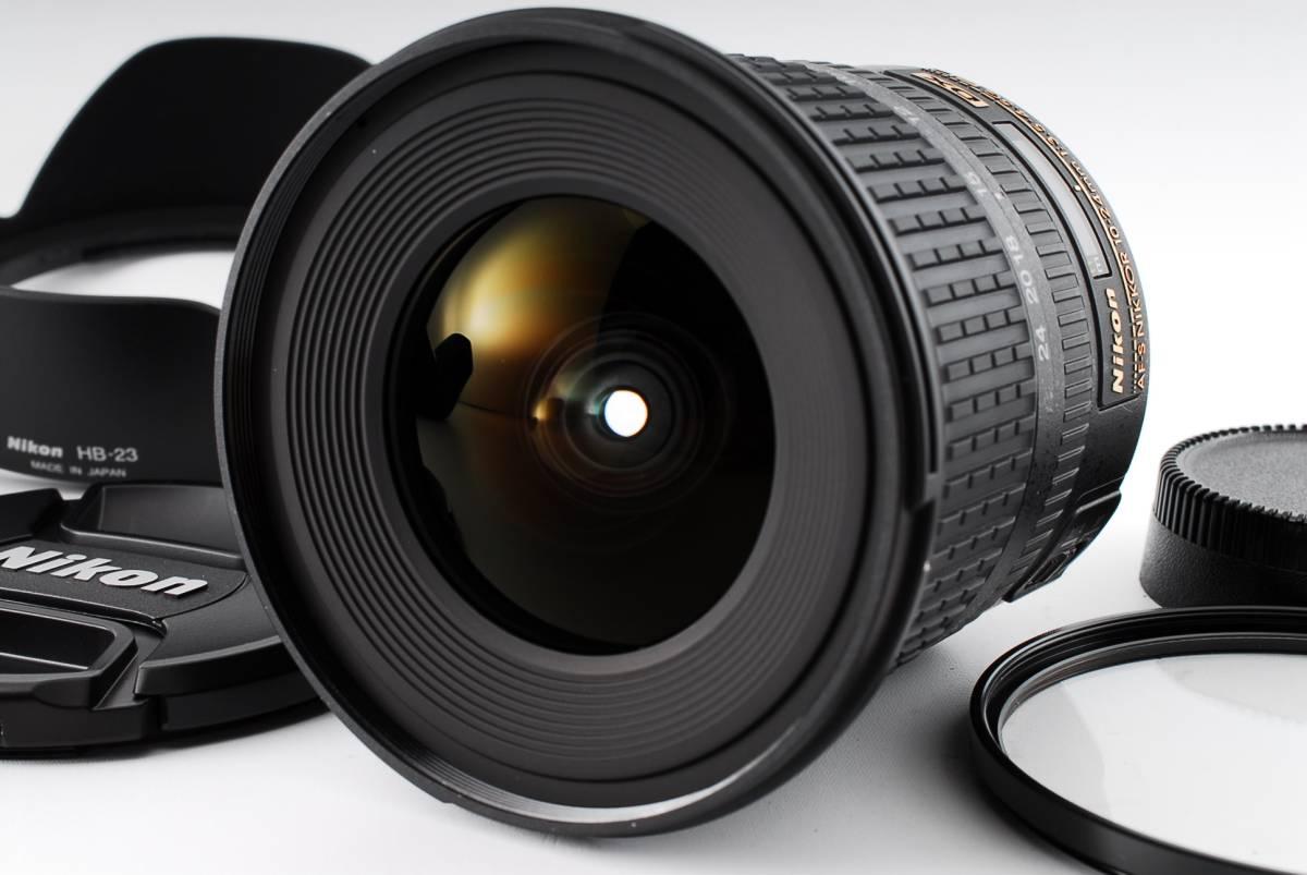 ★新品同然★ニコン Nikon AF-S NIKKOR 10-24mm f3.5-4.5G ED DX 外観・光学ともパーフェクトです!! #15