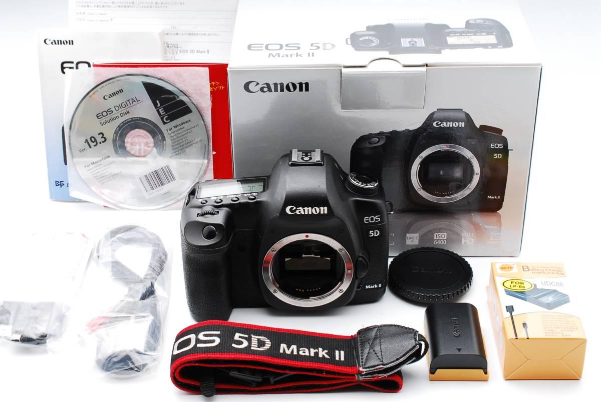 ★極上品★キヤノン Canon EOS 5D Mark II 付属品充実 元箱付き #67