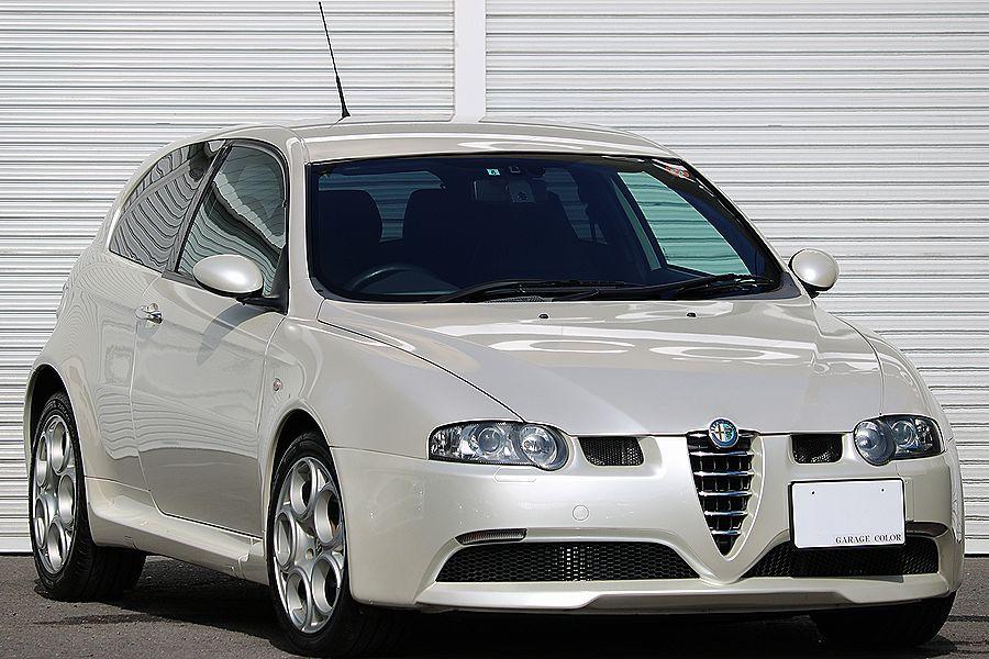 【 超レア / ヌヴォラ ホワイト 】 2005y / アルファロメオ / 147 GTA / 最上級モデル / イモラレザー / 専用内外装_即決 お問い合わせは 090-5100-6113迄