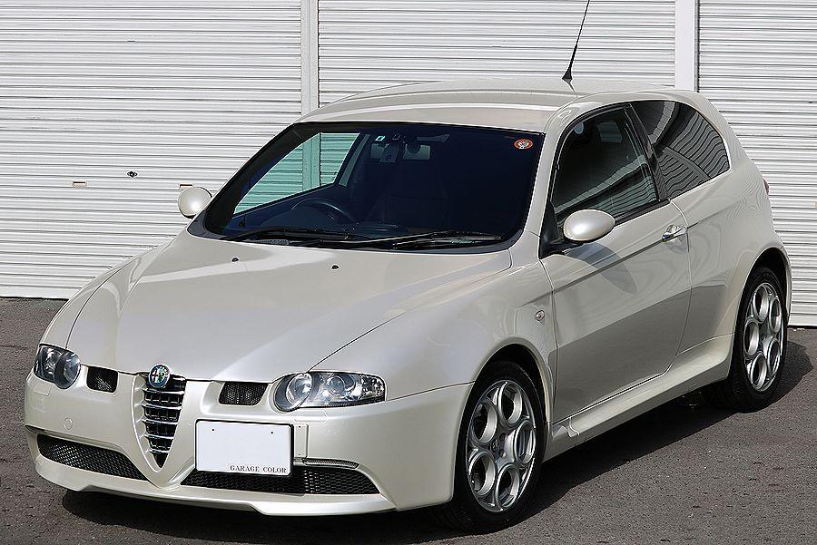 【 超レア / ヌヴォラ ホワイト 】 2005y / アルファロメオ / 147 GTA / 最上級モデル / イモラレザー / 専用内外装_画像2