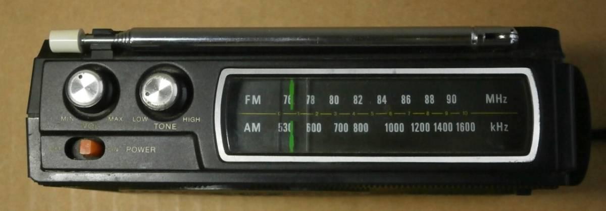 SONY ラジオ FM/AM 2BANDS ICF-4530 本体のみ 動作品_画像5