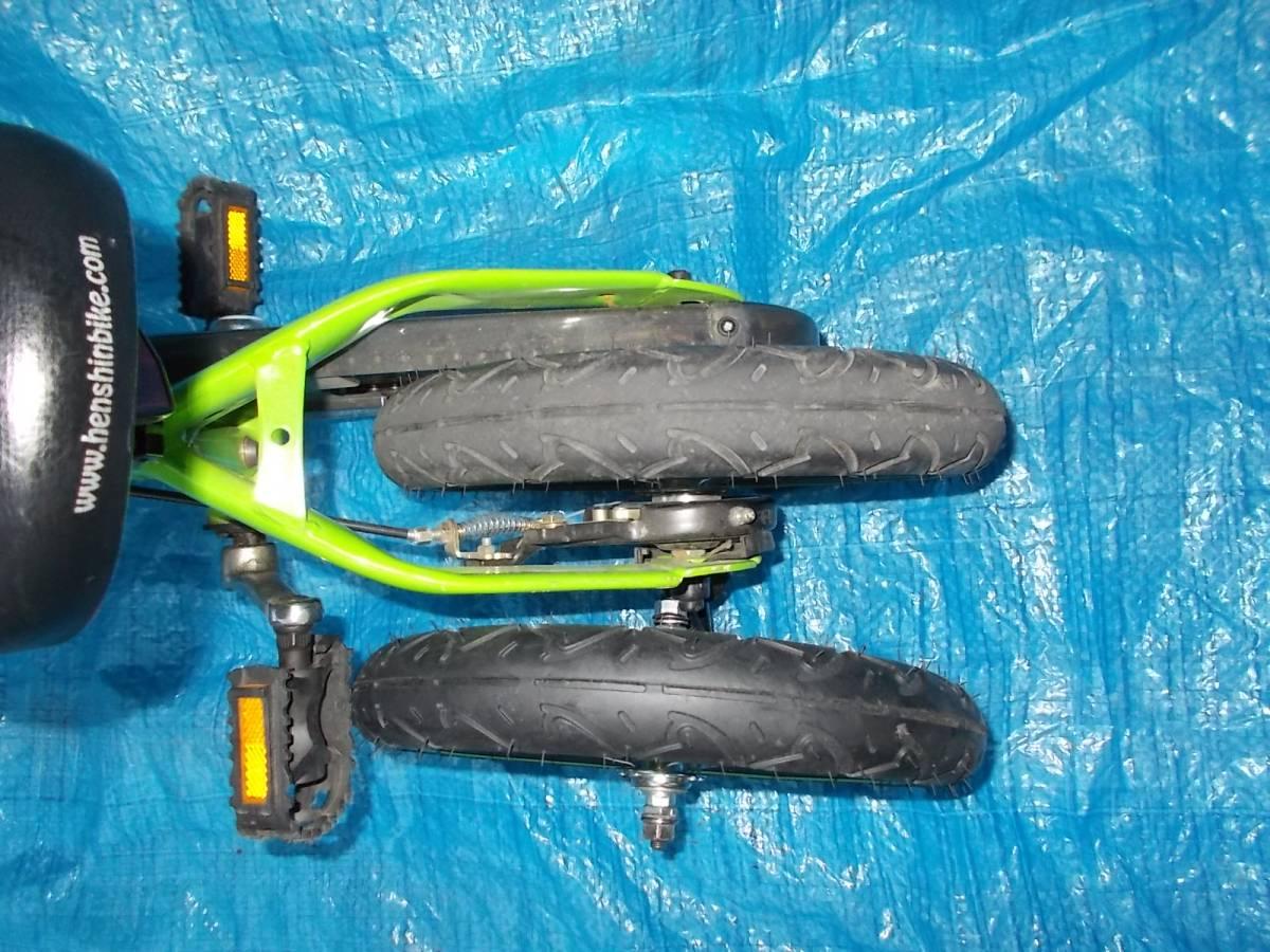 ビタミン i ファクトリー      へんしんバイク オマケ付き バランス  子供 自転車  ジャンク、3N _画像3