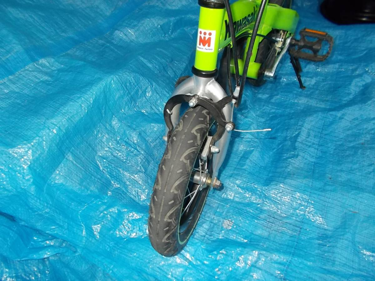 ビタミン i ファクトリー      へんしんバイク オマケ付き バランス  子供 自転車  ジャンク、3N _画像4