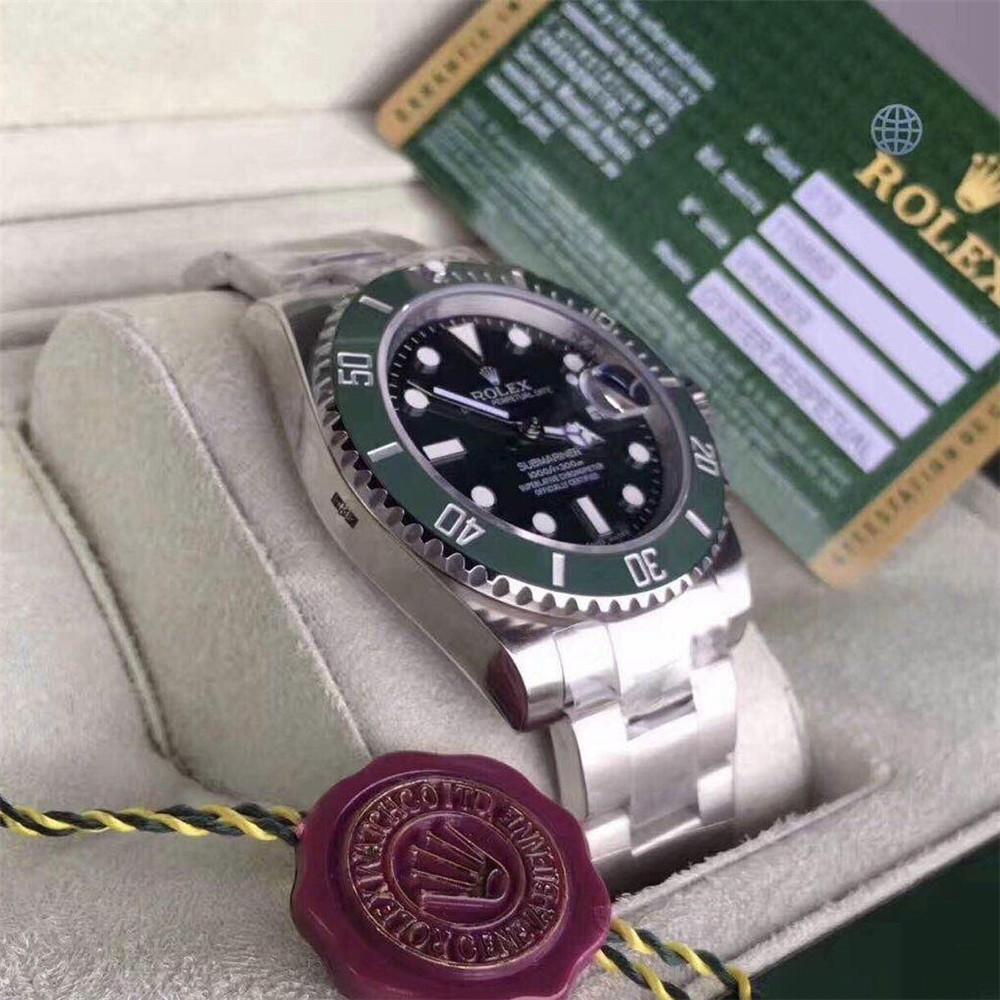 ロレックス サブマリーナ グリーン デイト ランダム シリアル ルーレット 116610LV ROLEX 腕時計_画像3