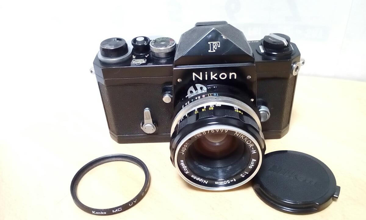 Nikon F ブラックNIKKOR H 1:2 f=50mm ジャンク品扱い