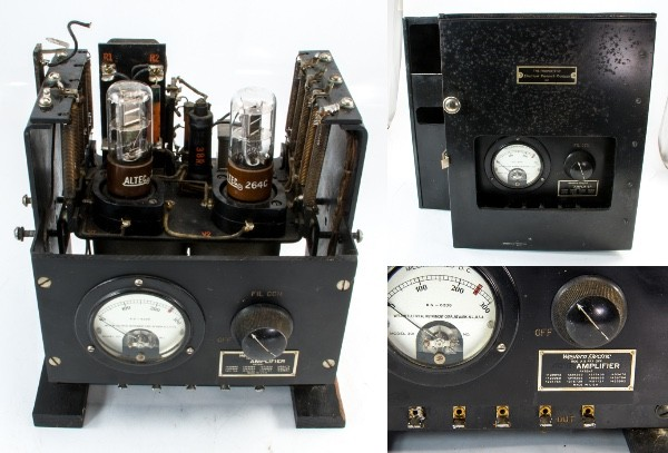 Western Electric ウエスタン 真空管アンプ 49B Electical Research Products金属ケース