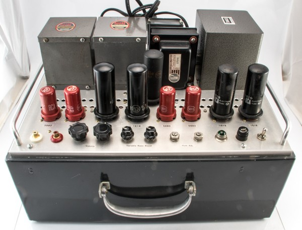 M.NISHIZAWA 1619P Stereophonic Amplifier 真空管アンプ ステレオ オーディオパーツ