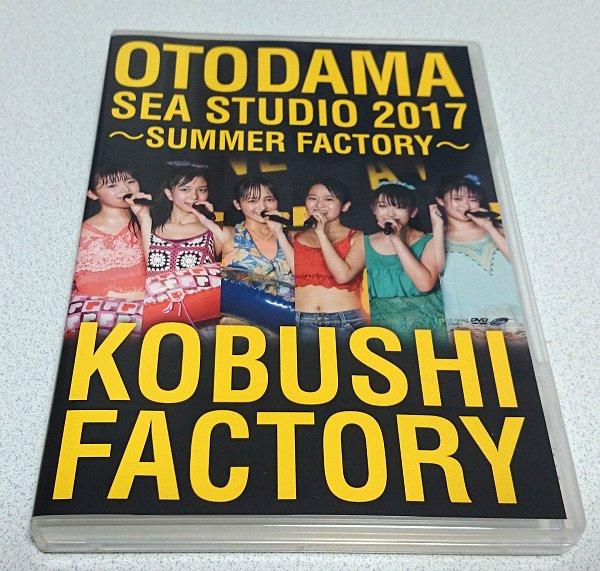 こぶしファクトリー 音霊 OTODAMA SEA STUDIO 2017 ~SUMMER FACTORY~ DVD / ハロプロ 井上玲音 浜浦彩乃 広瀬彩海